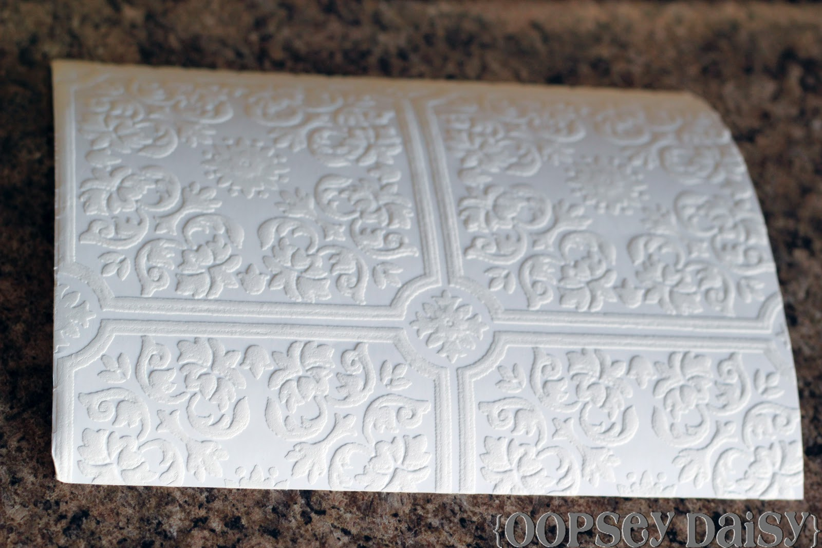 How To Paint Paintable Wallpaper 1600x1067