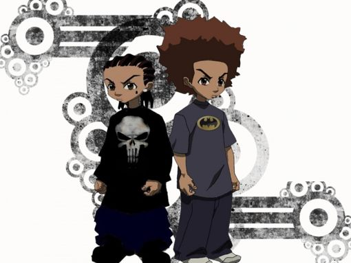 Download Boondocks wallpapers to your cell phone   anime cartoon 510x383