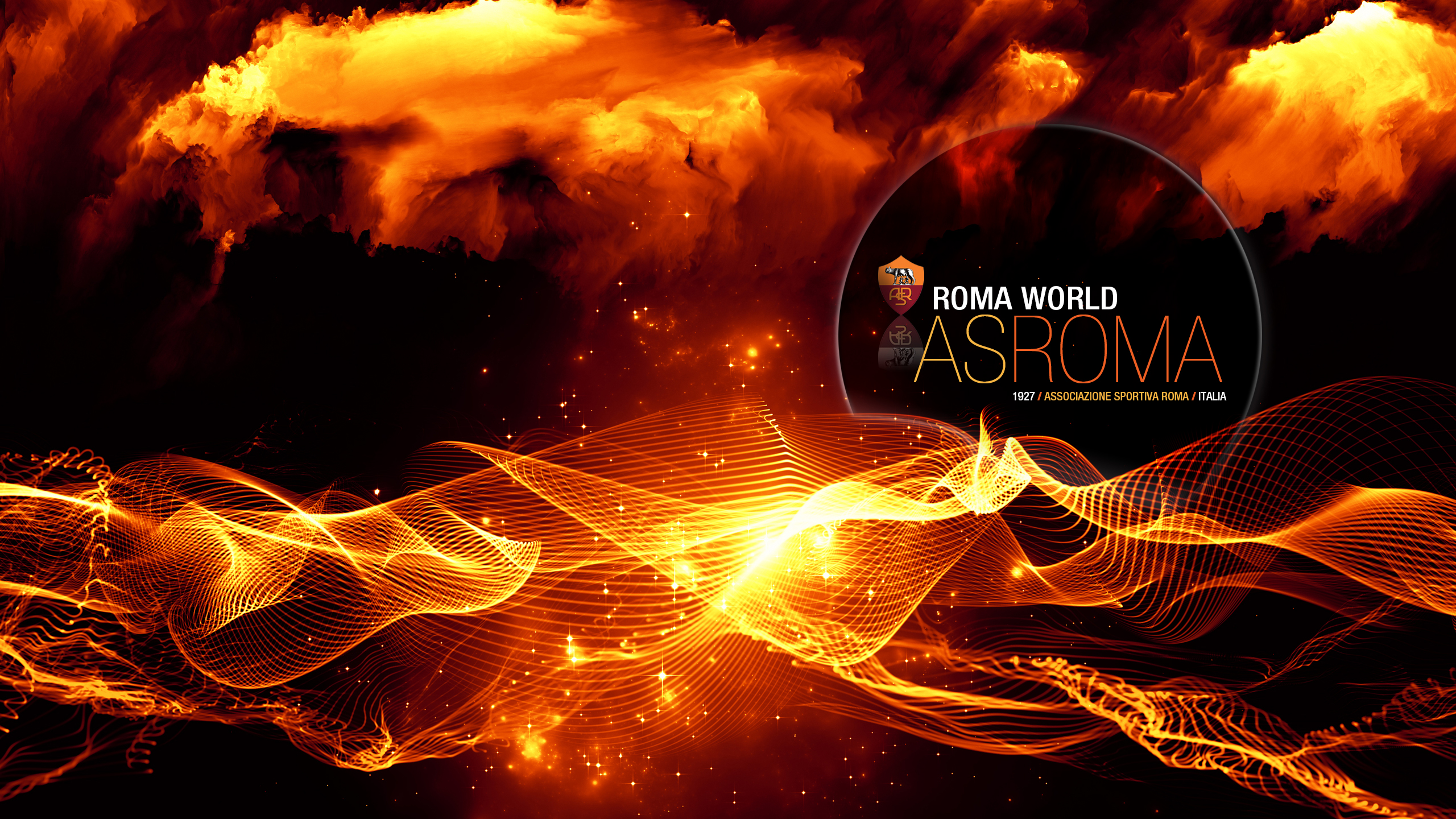 Nice AS Roma Wallpaper Full HD Pictures 2560x1440
