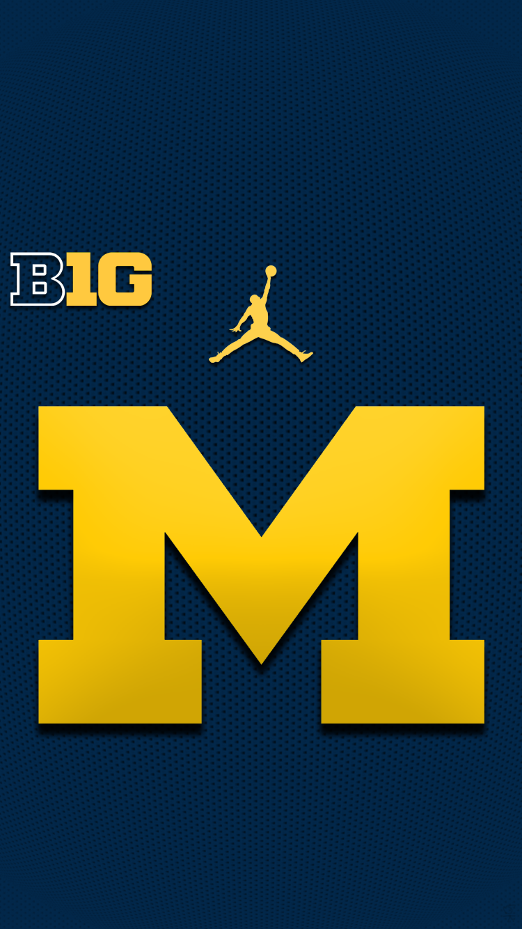 Pin by Michael Stoughton on GO BLUE Michigan wolverines 750x1334