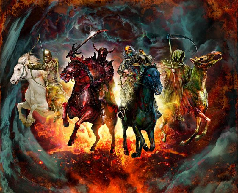 The 4 Horsemen of the Apocalypse 800x651