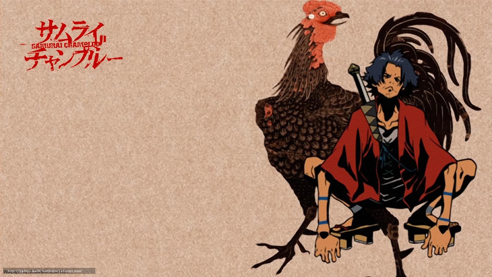 Download wallpaper samurai champloo Wandering Swordsman Mugen 1600x900