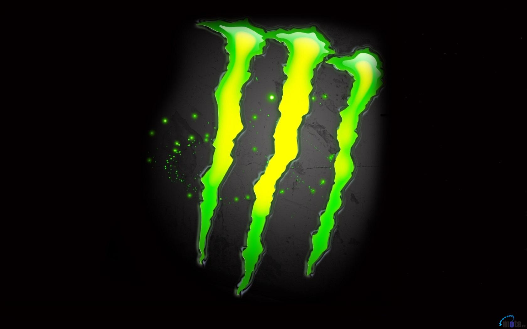 Wallpaper Monster Energy logo 1680 x 1050 widescreen Desktop 1680x1050