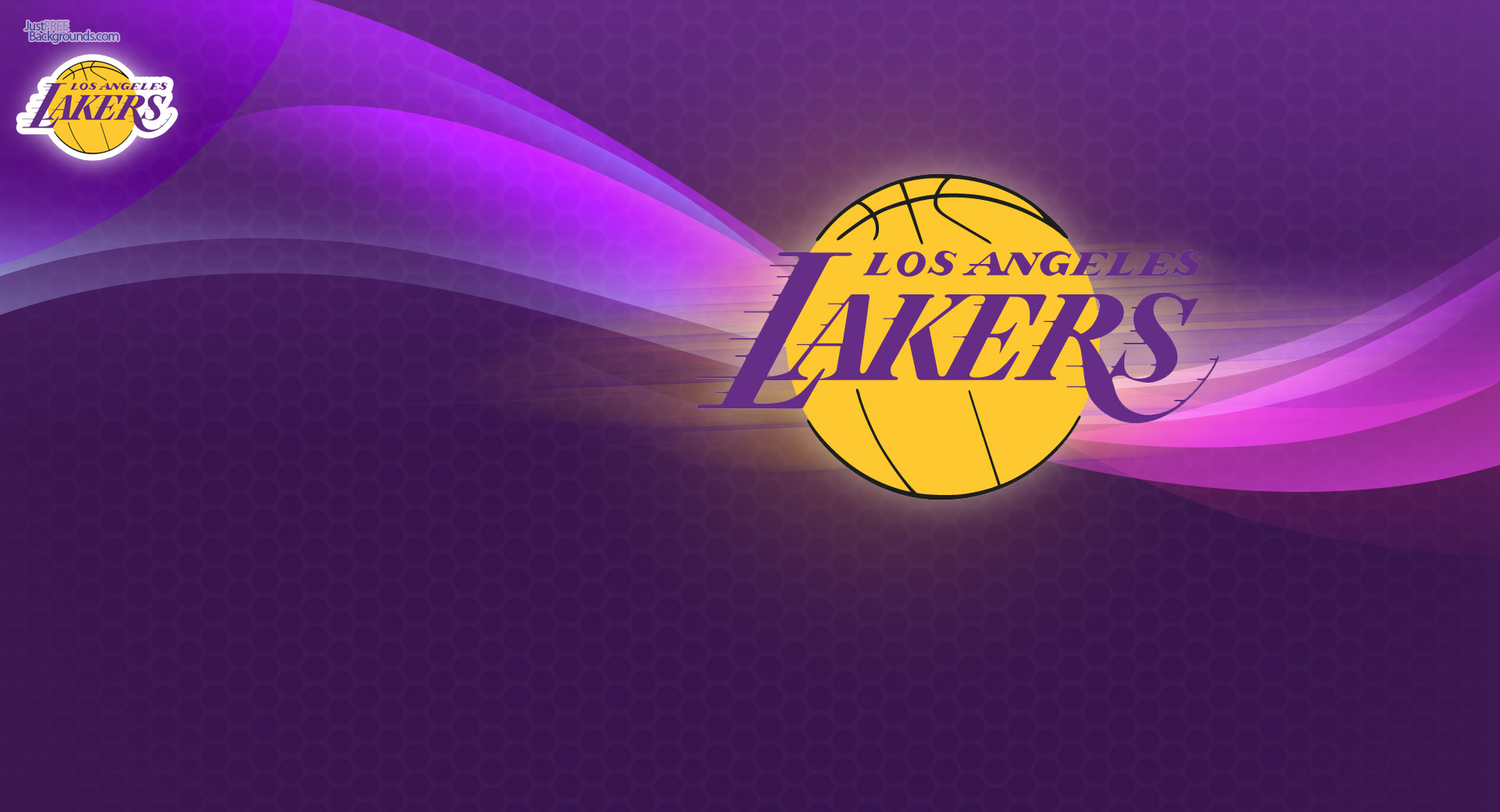 Get this new Los Angeles Lakers desktop background Escudo 1920x1040