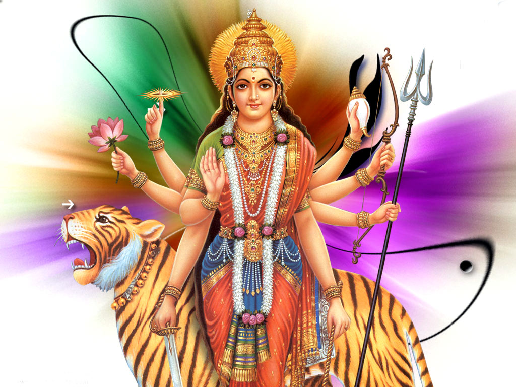 Maa Durga Wallpapers HINDU GOD WALLPAPERS FREE DOWNLOAD 1024x768