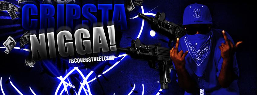 Gangster Disciple Black Bandana Cripsta Nigga 850x315