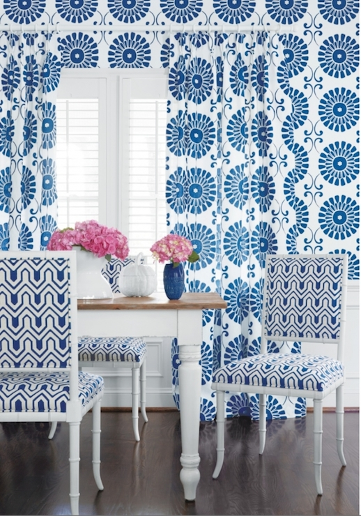 Thibaut Wallpaper Contemporary dining room Thibaut Design 518x740
