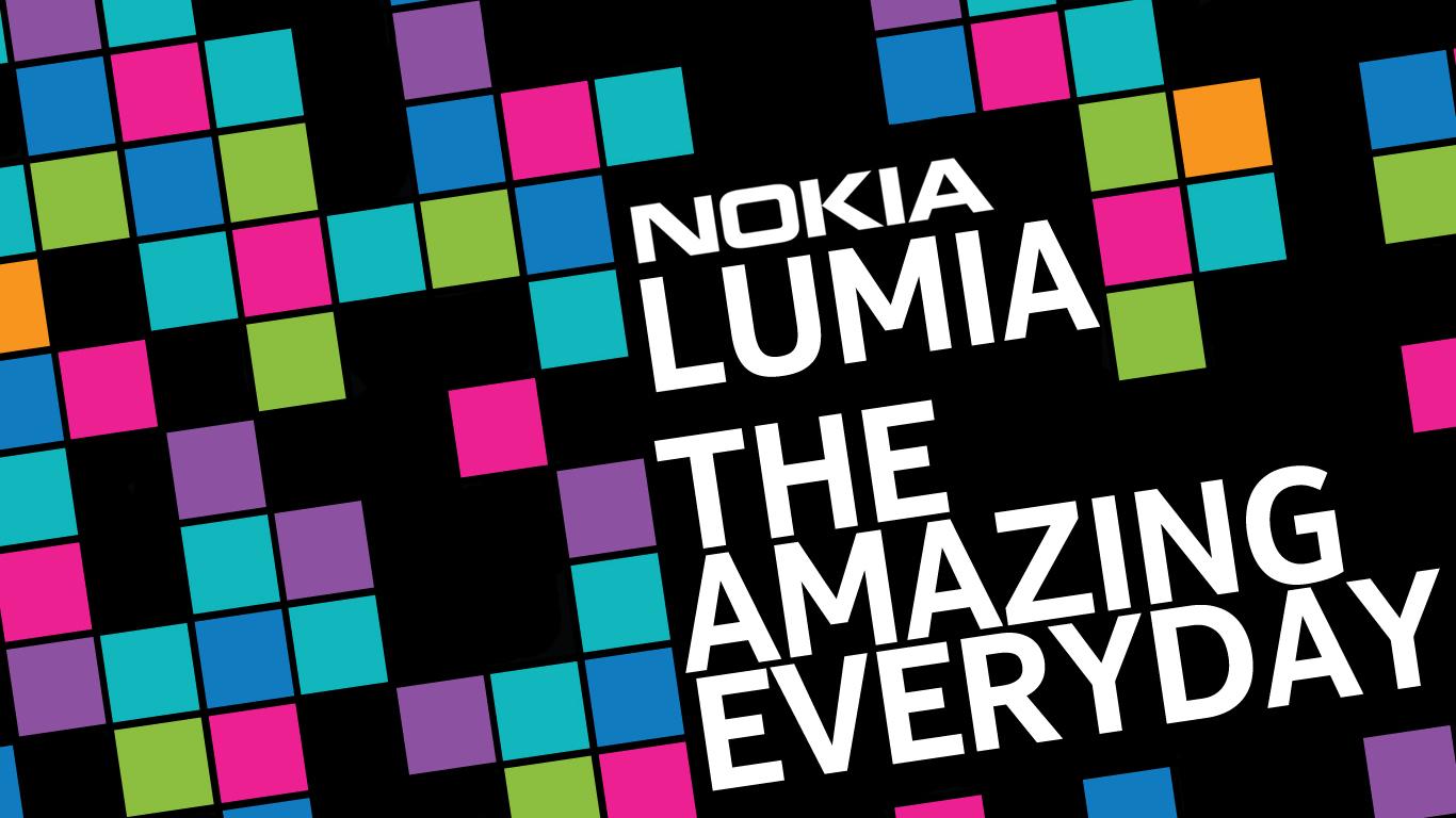 Nokia Lumia wallpaper for PC by metrovinz on deviantART 1366x768