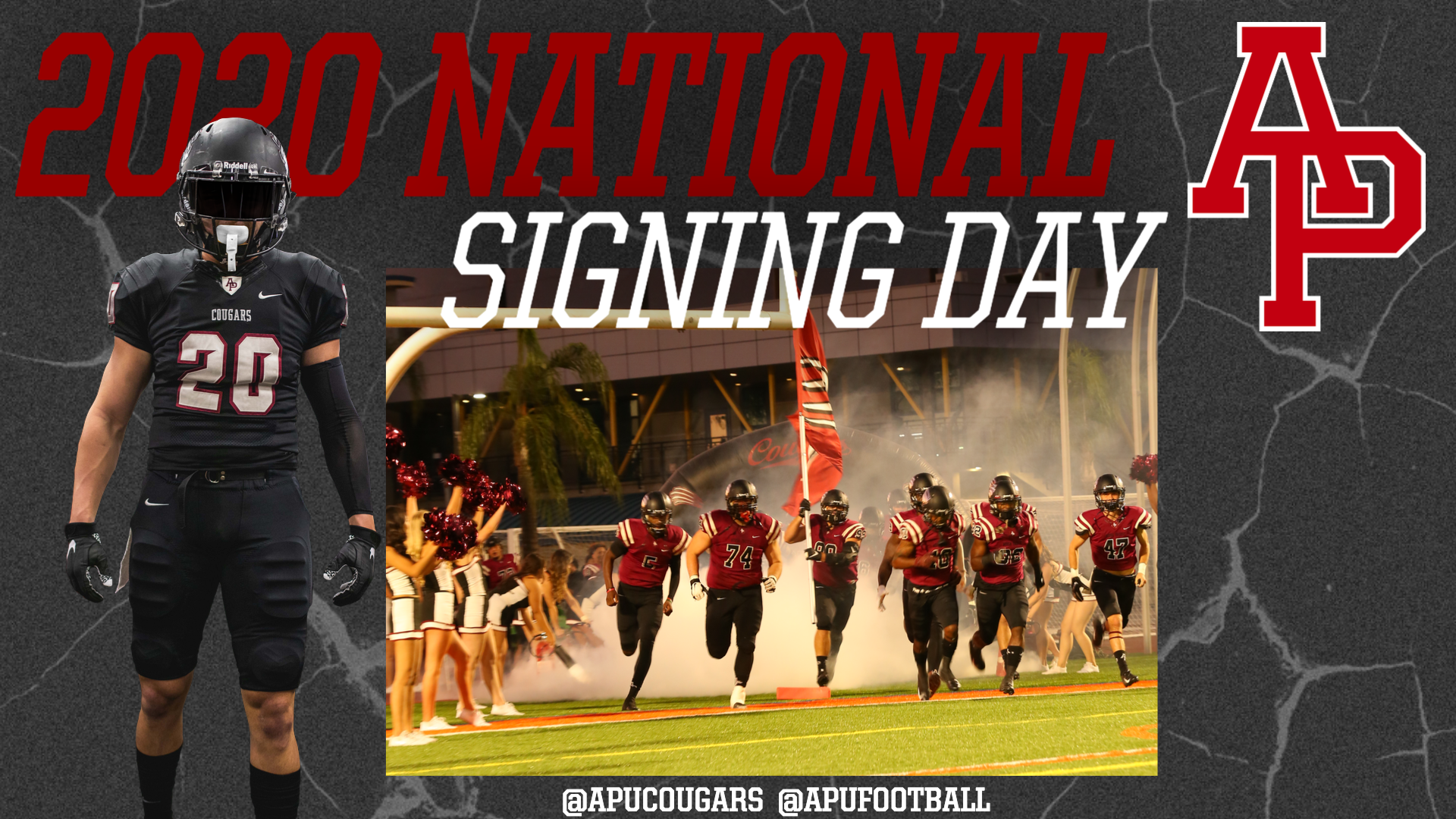 2020 National Signing Day Class Announced   Azusa Pacific 1920x1080