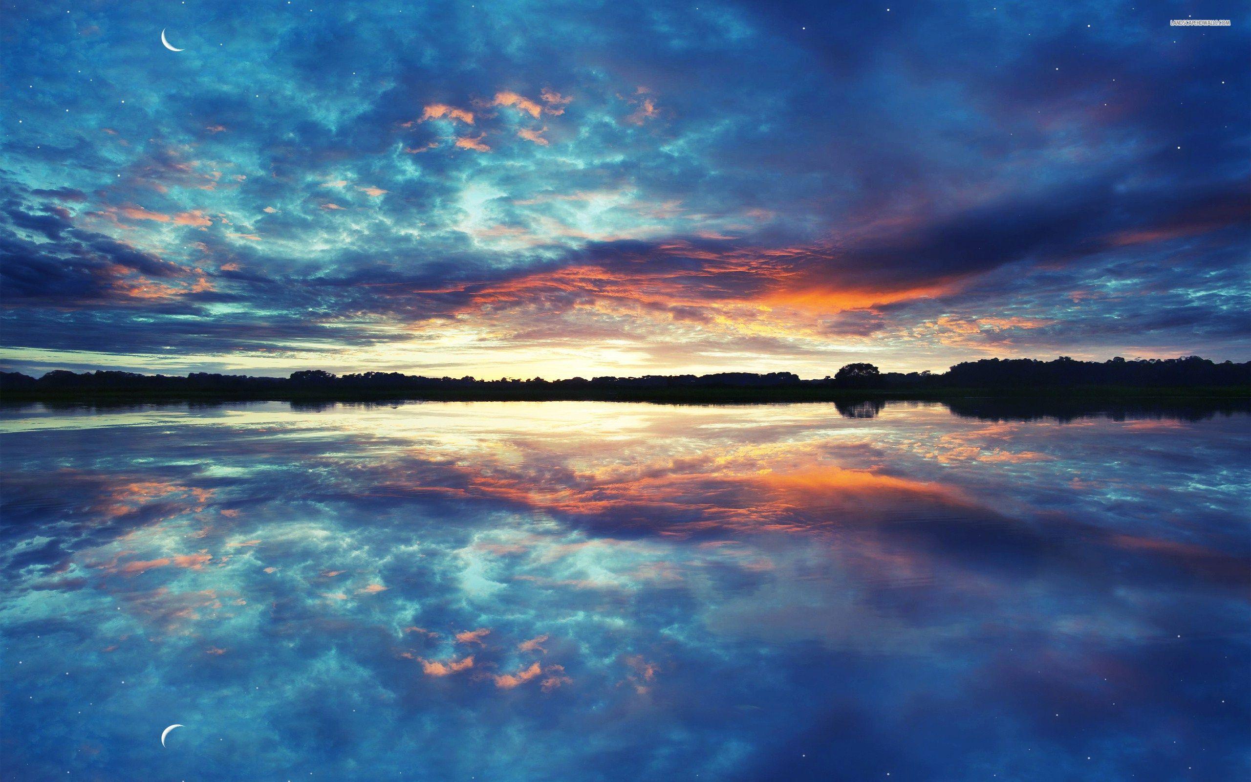 Colorful Sky Desktop Wallpaper 04118   Baltana 2560x1600