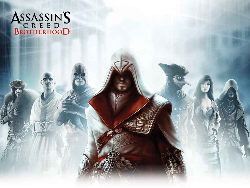 assassin creed brotherhood HD Wallpaper Welcome to EA729 1024x768