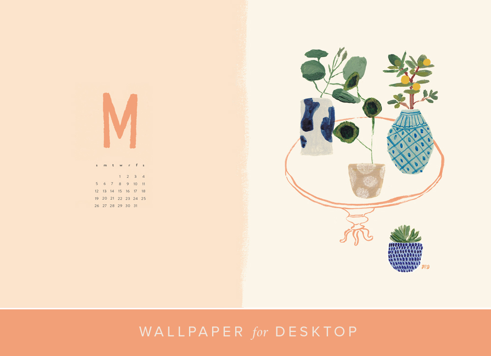 May desktop calendar download and print   The House That Lars Built 1000x725