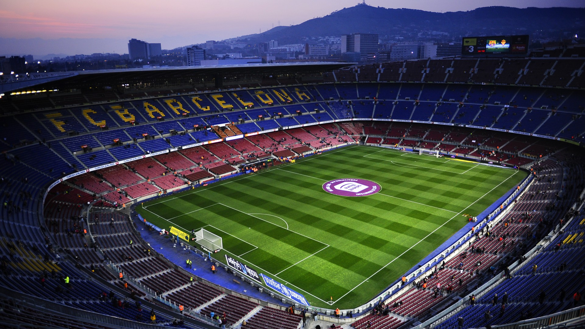 Camp Nou Stadium FC Barcelona Football Wallpapers HD Follow your 1920x1080