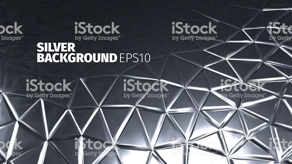 Steel Background Vector Silver Banner Iron Strong Backdrop Stock 1024x576