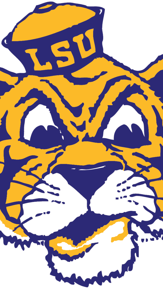 Lsu Tigers Iphone Wallpaper Old lsu tiger wallpaper 640x1136