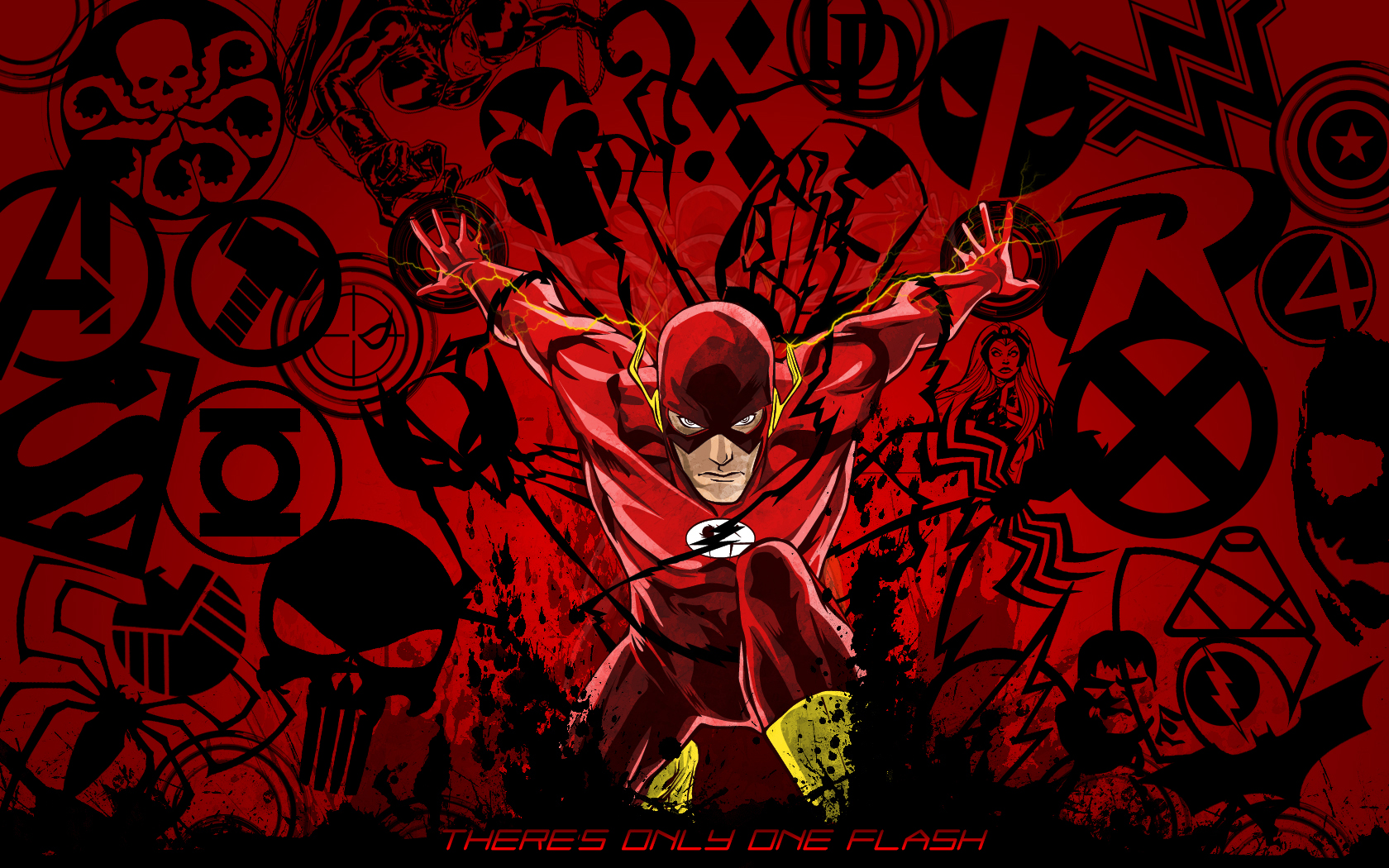 Flash Cw Wallpaper The flash cw wallpaper hd hd 1680x1050