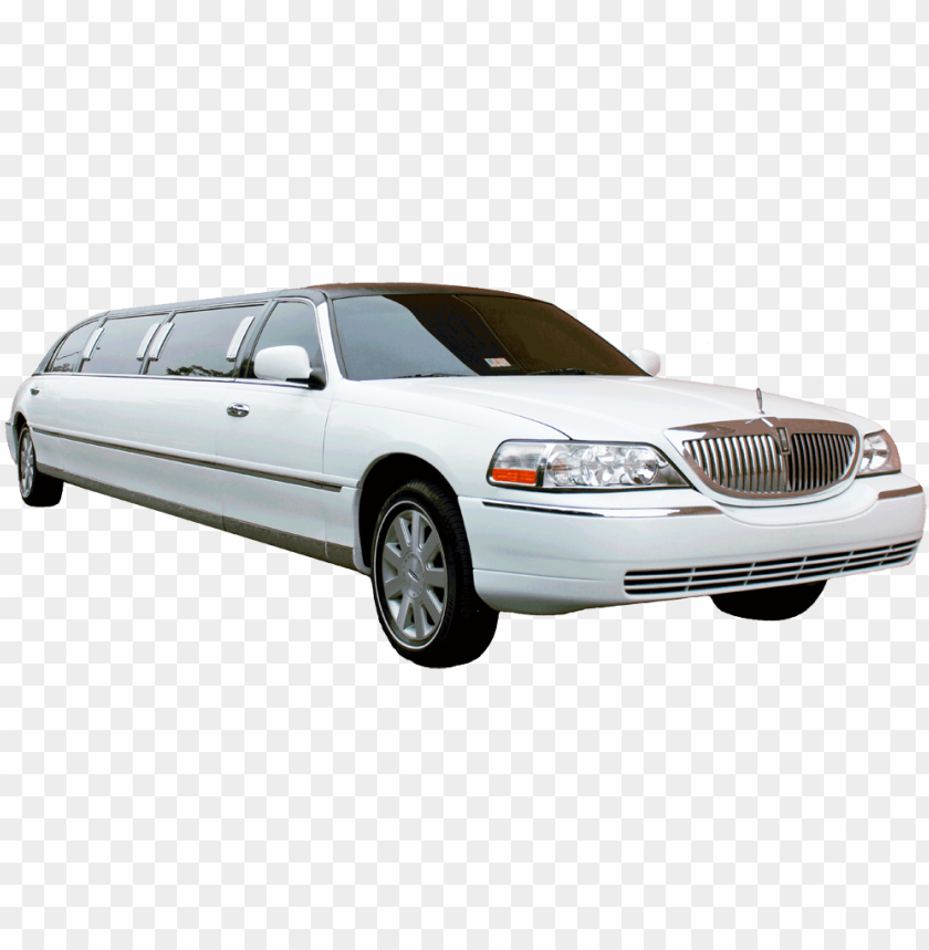 image of a white lincoln town car stretch limo with   lincoln town 840x859