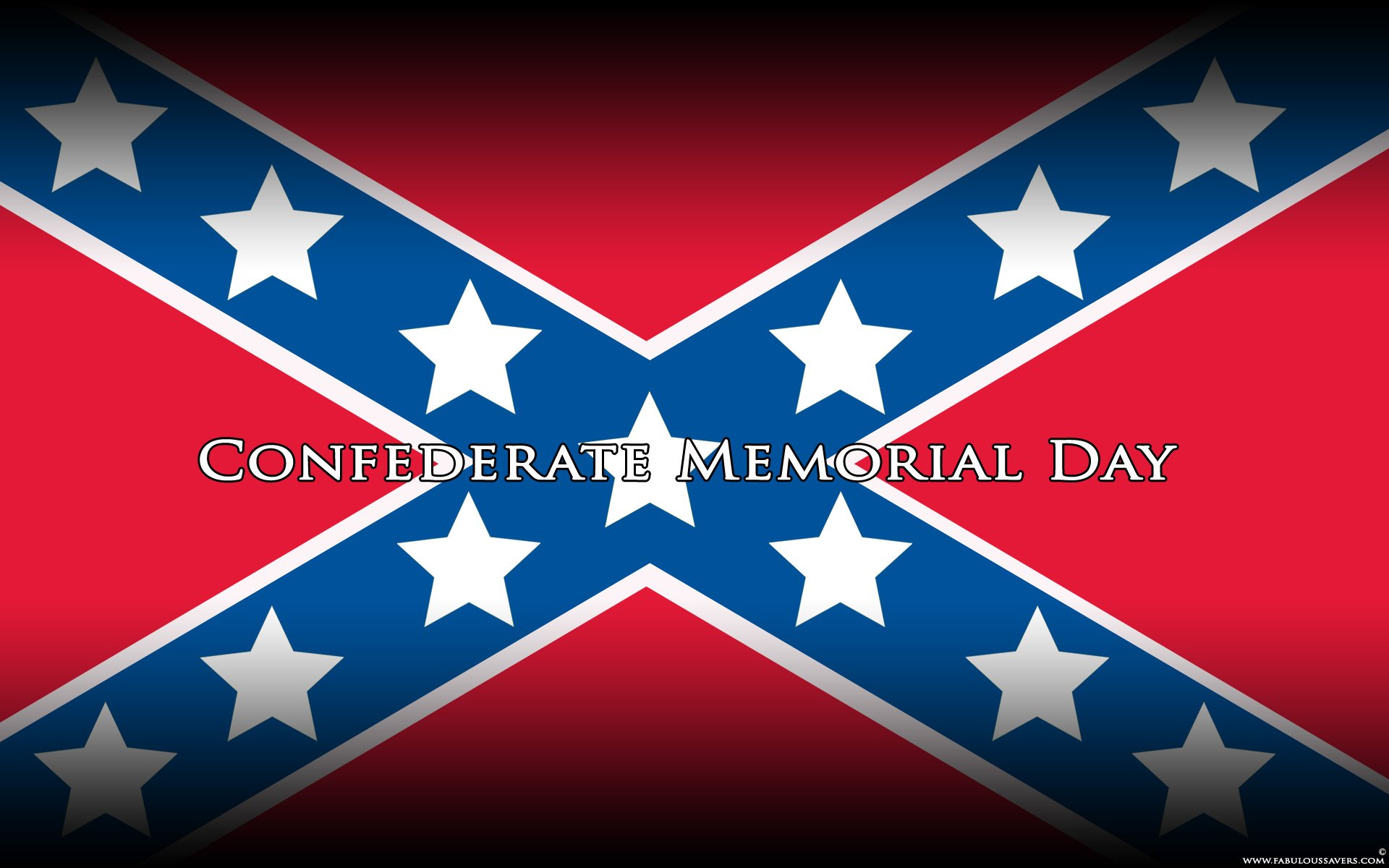 Confederate Memorial Day computer desktop wallpapers pictures 1920x1200