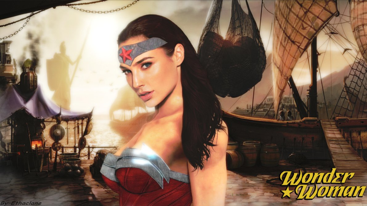 Free Download Wonder Woman Wallpaper Gal Gadot By Ethaclane