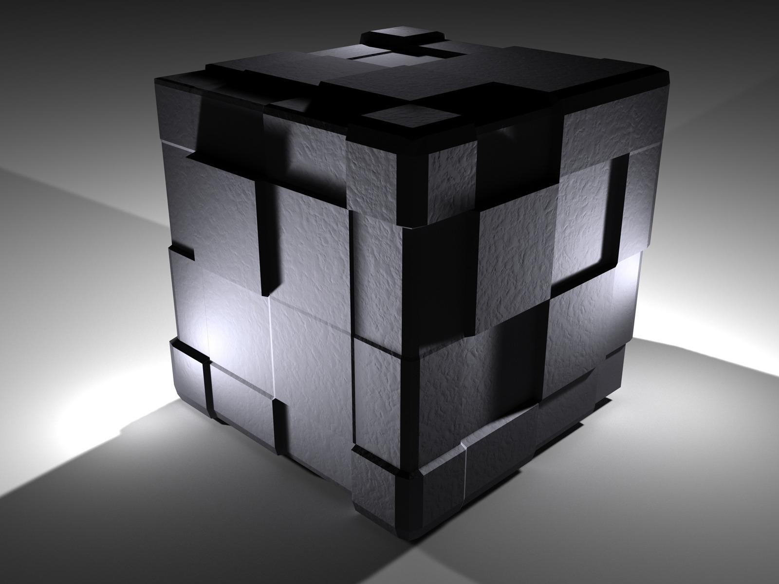Cube 3d 1600x1200 1600x1200