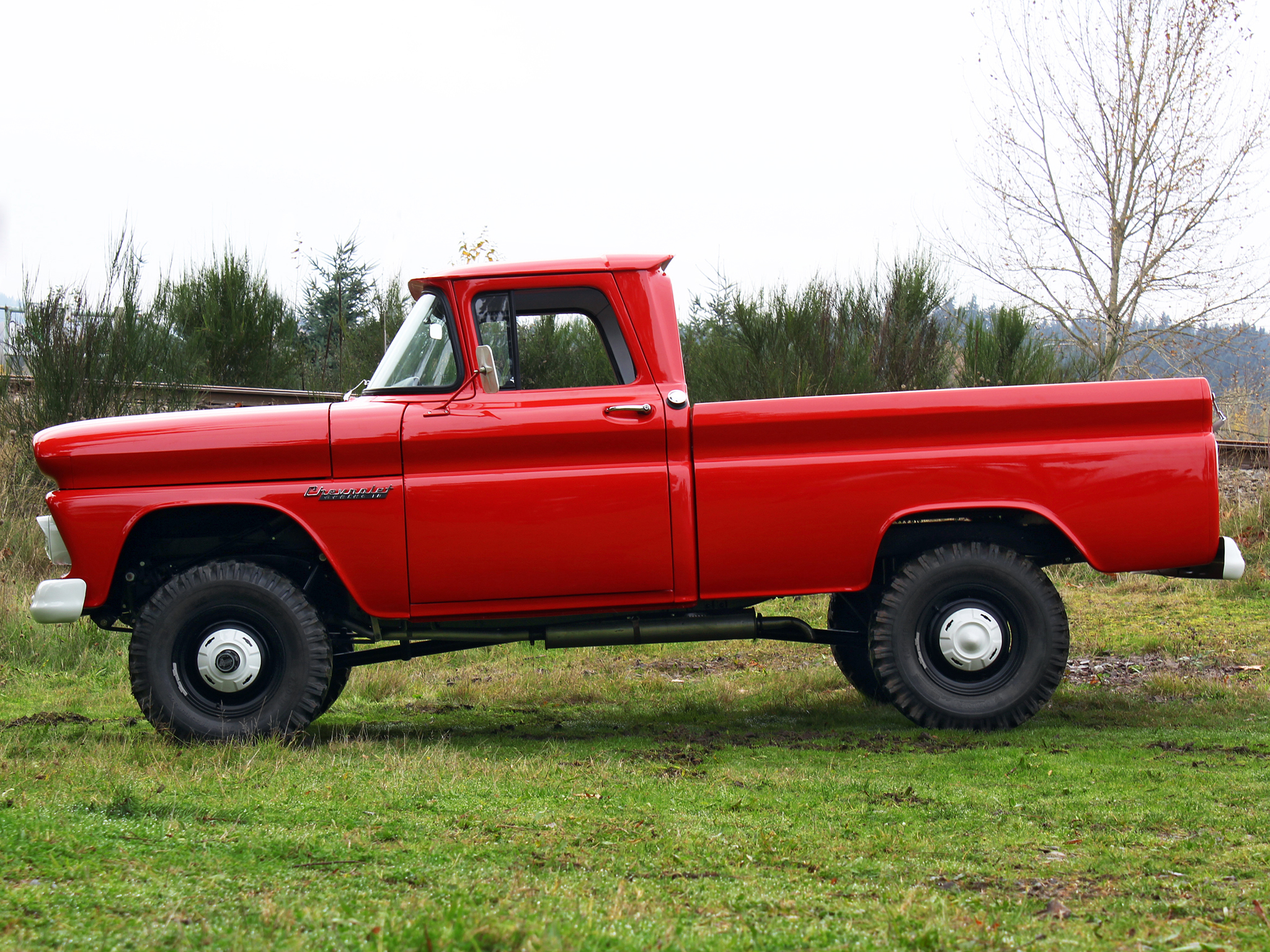 10 Fleetside Pickup Truck K14 4x4 classic f wallpaper background 2048x1536
