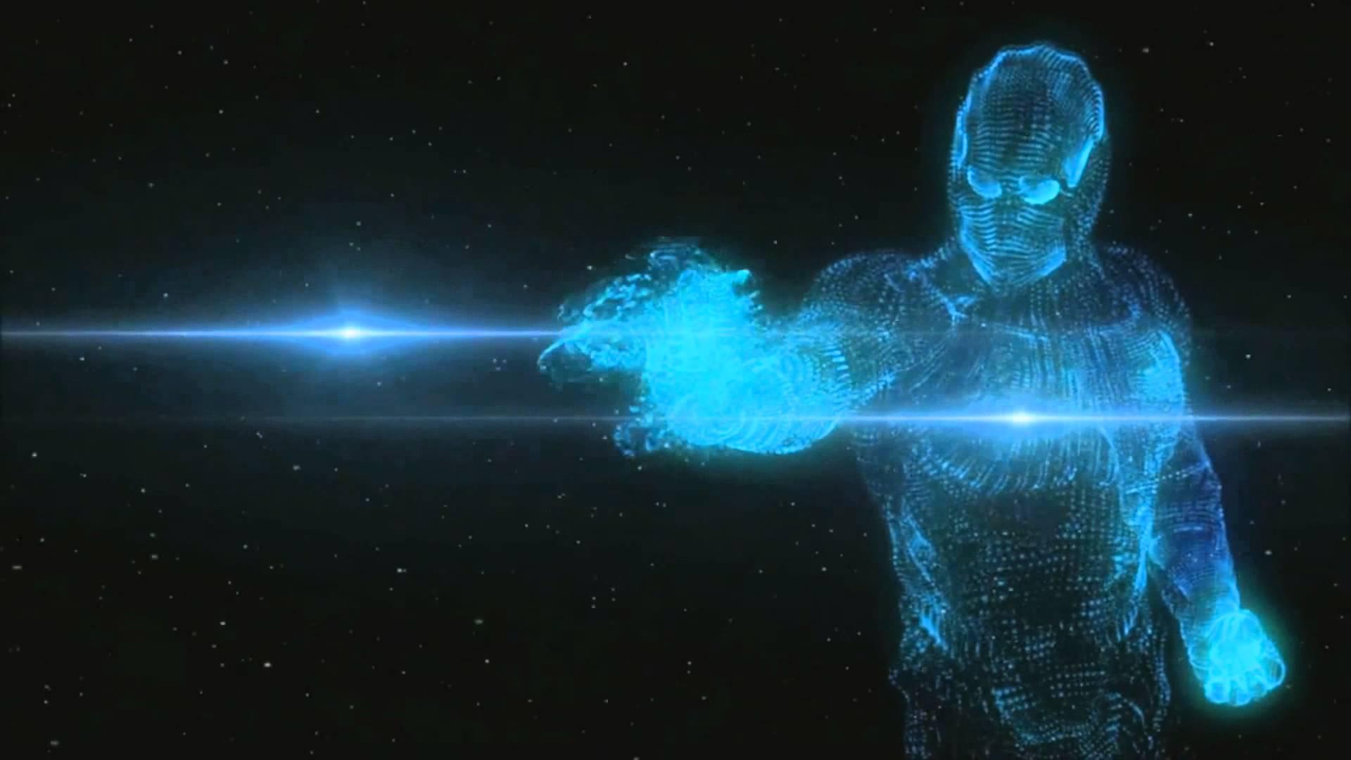 C4D - Holographic men - YouTube
