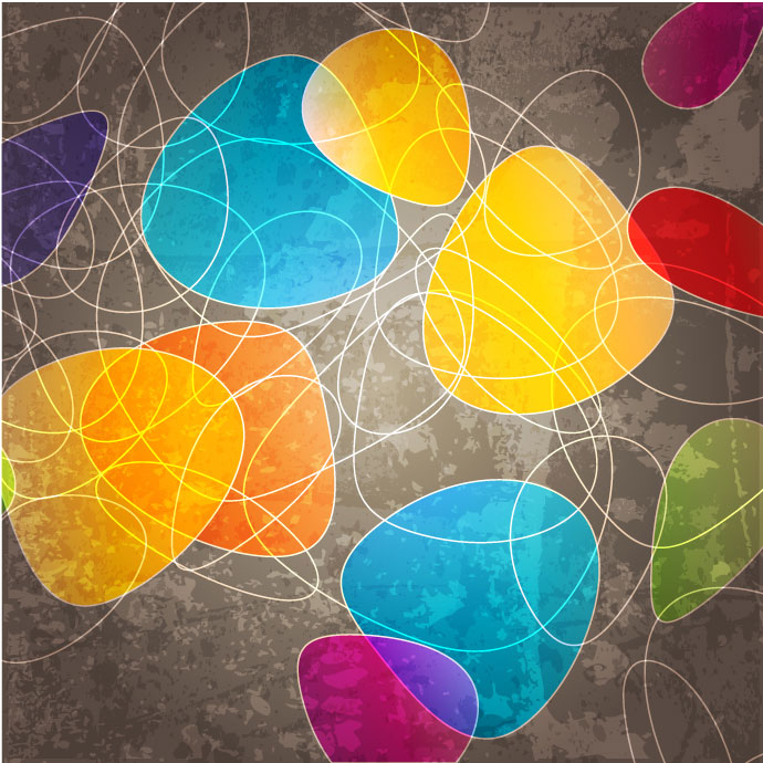 Download Colorful Abstract Vector Backgrounds Illustration This 690x690