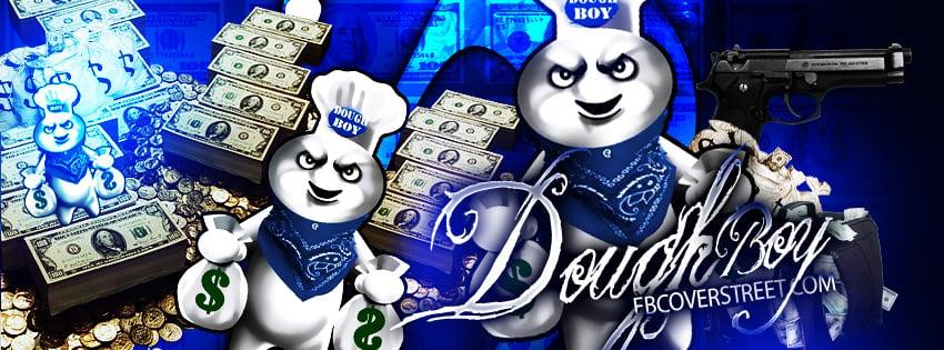 Pillsbury Dough Boy Gangster Doughboy wallpaper 850x315