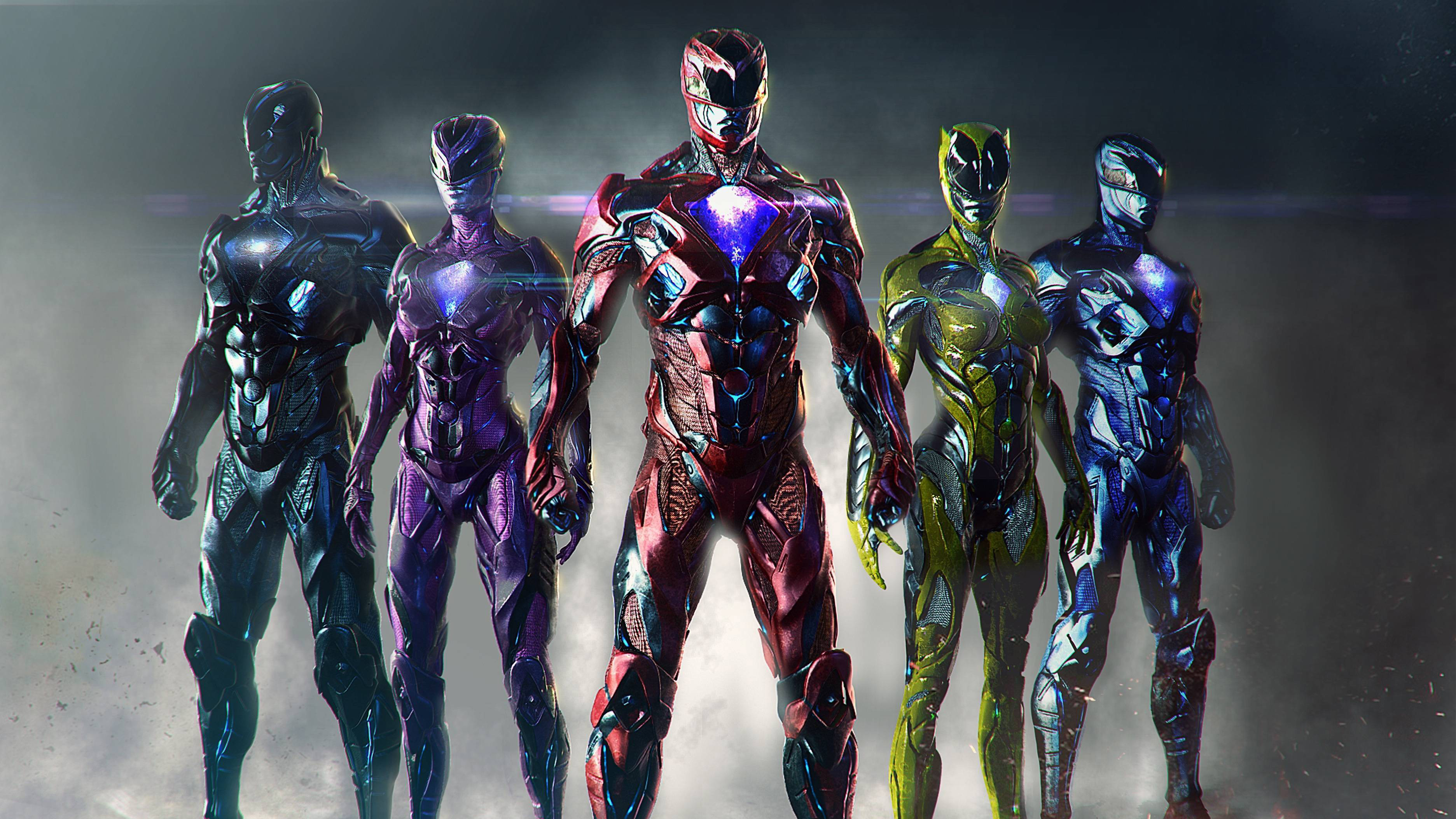 50 Power Rangers 2017 HD Wallpapers Background Images 3745x2107