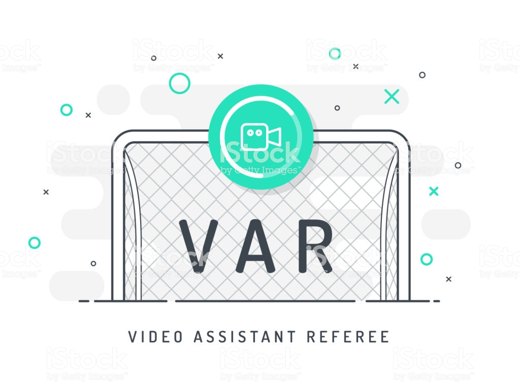 Soccer Football Var System And Replay Kick On The Gate Video 1024x768