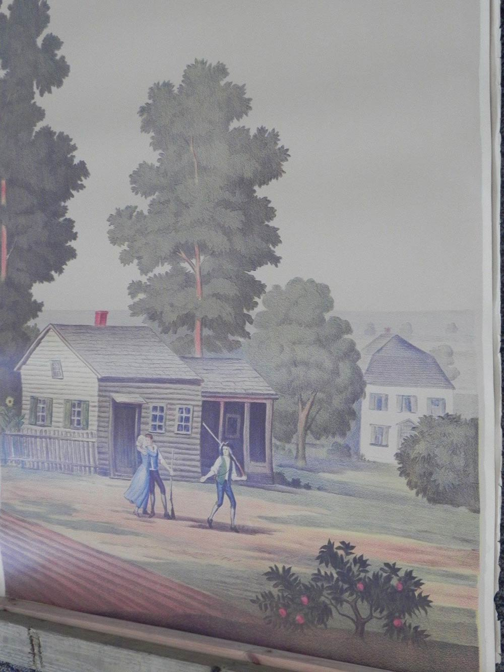 Full room vintage wallpaper murals by The Schmitz Horning Co   Retro 1000x1333