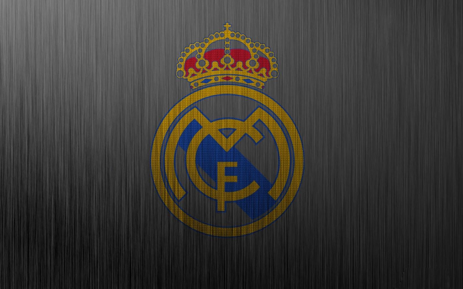 Real Madrid FC Logo 2013 HD Wallpaper of Football   hdwallpaper2013 1600x1000