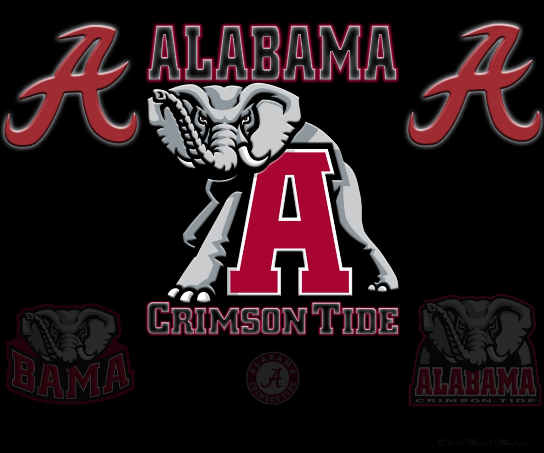 2015 Cool Alabama Football Backgrounds 1728x1440