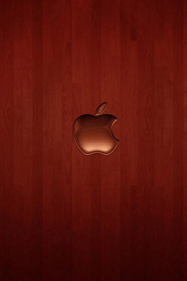 Cherry Wood Apple IPhone Wallpaper 640960 112282 HD Wallpaper Res 640x960