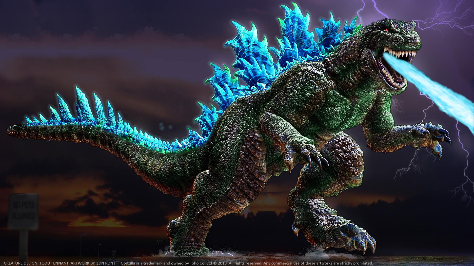 Godzilla Wallpaper 1920x1080 Images amp Pictures   Becuo 1920x1080