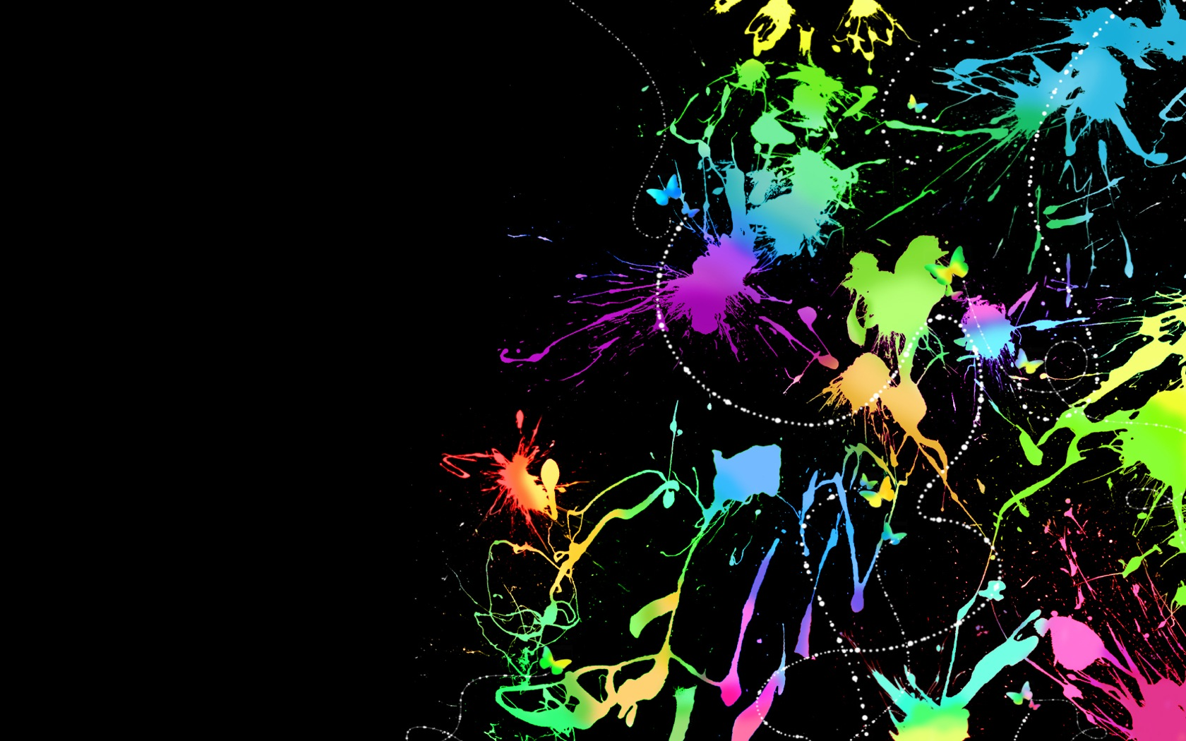 Abstract Colorful Desktop Wallpaper