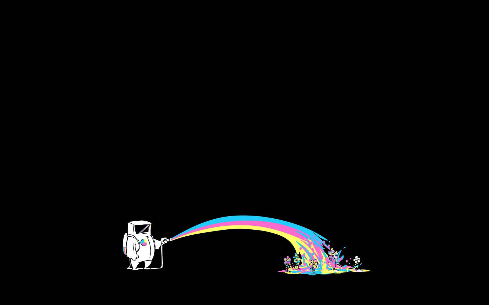 Minimalistic Rainbows 19201200 Wallpaper 820390 1920x1200