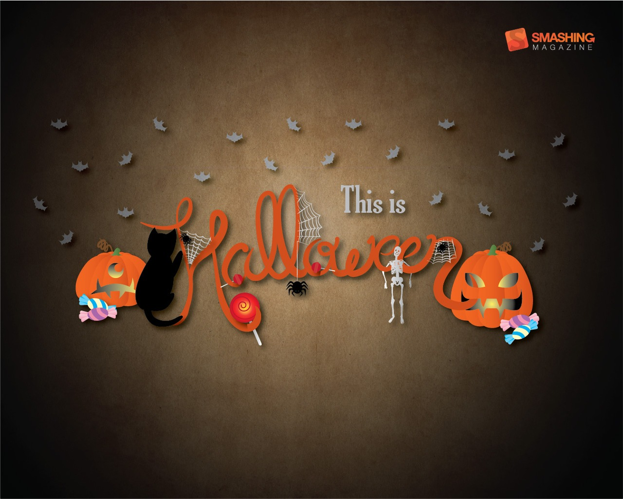 75 Halloween Wallpapers Scary Monsters Pumpkins And Zombies 1280x1024
