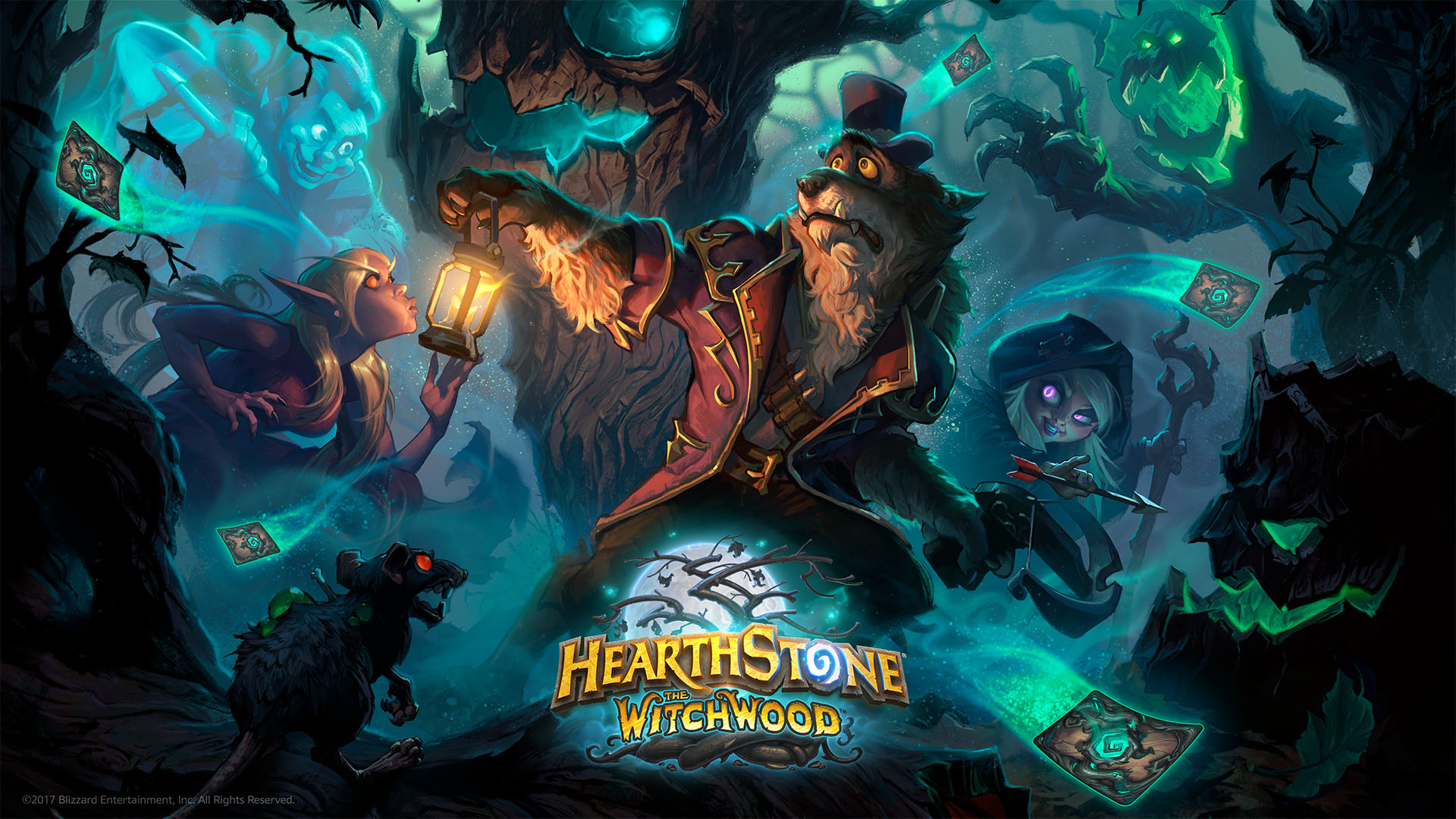 Witchwood official wallpaper hearthstone 1920x1080