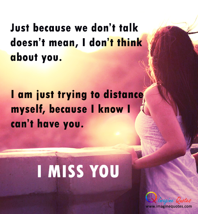 Miss You Wallpapers with Quotes - WallpaperSafari