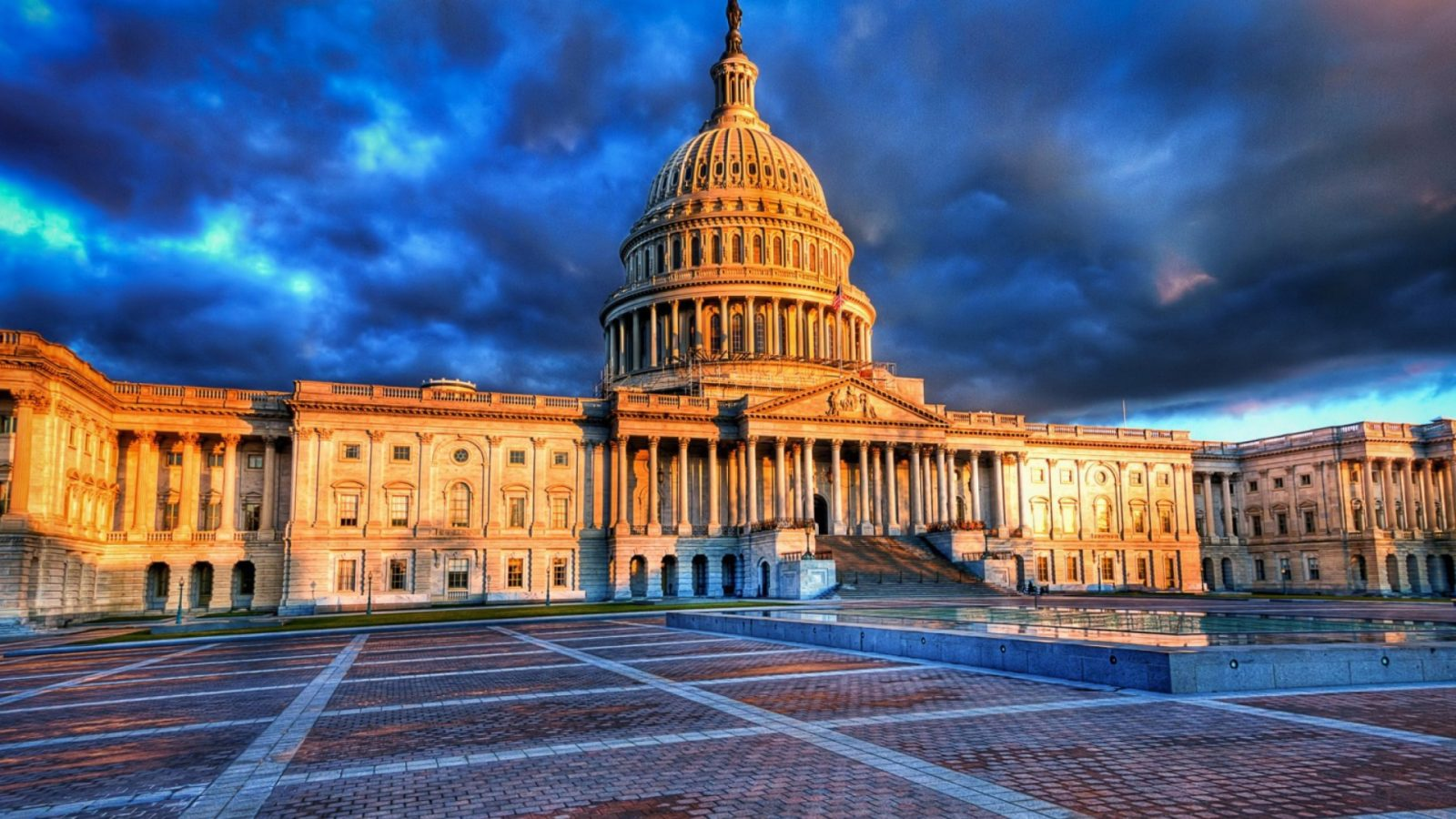 High Definition Wallpaper Of The Home Of United States Congress 1600x900
