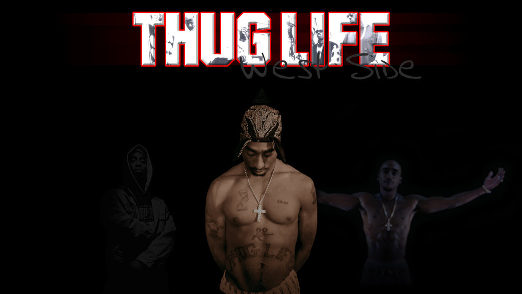 Tupac Wallpaper Thug Life by Mr123Spiky 1024x576
