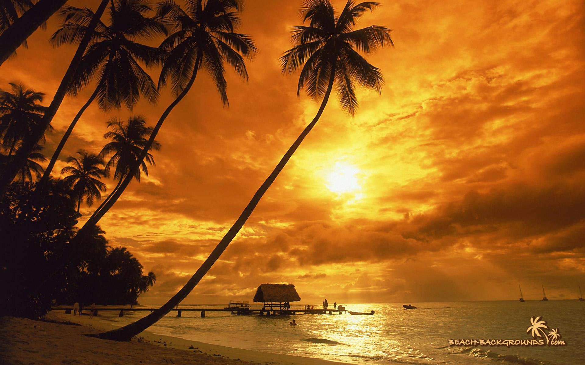 island sunset photos tropical island sunset images tropical island 1920x1200