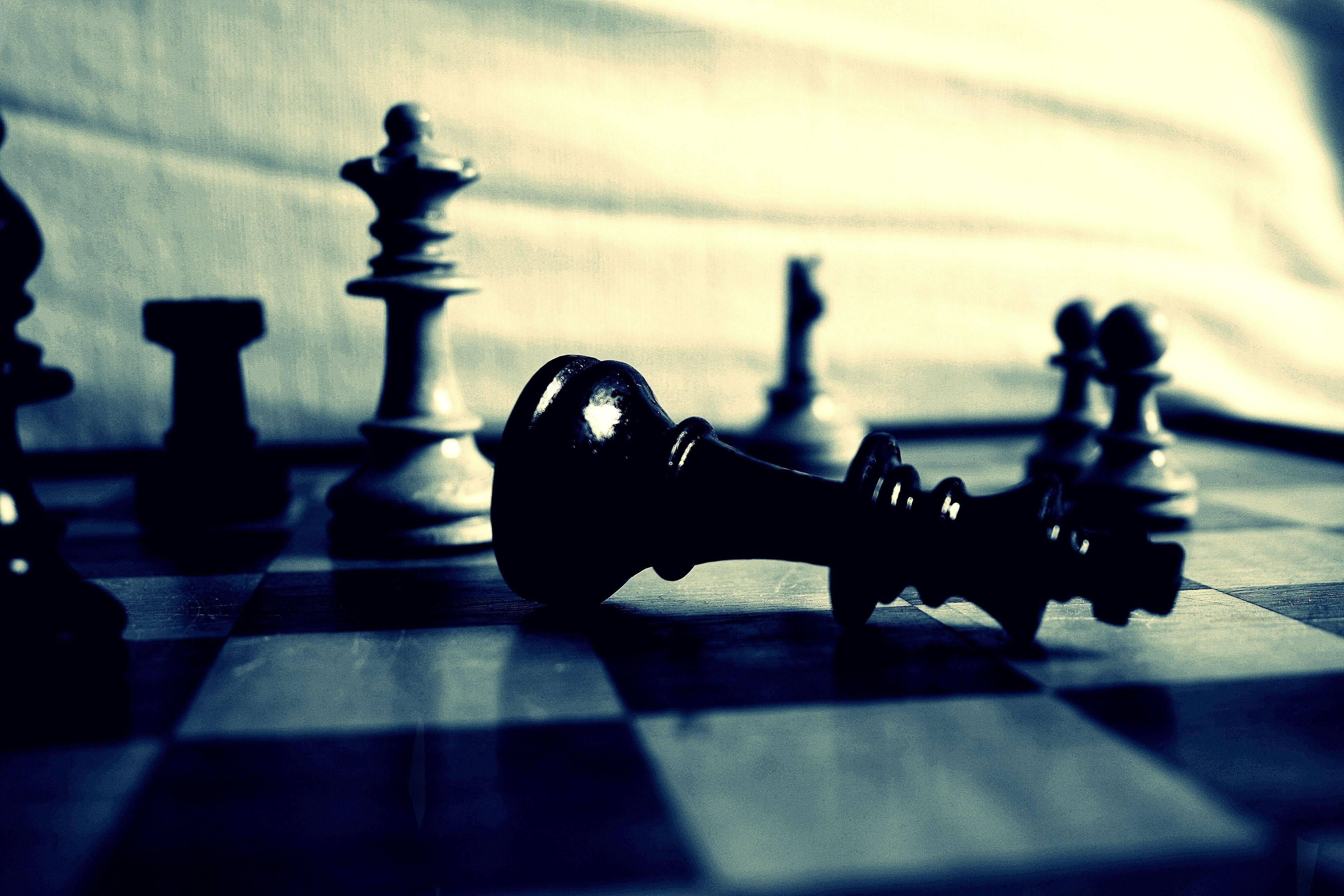 Chess King Wallpaper