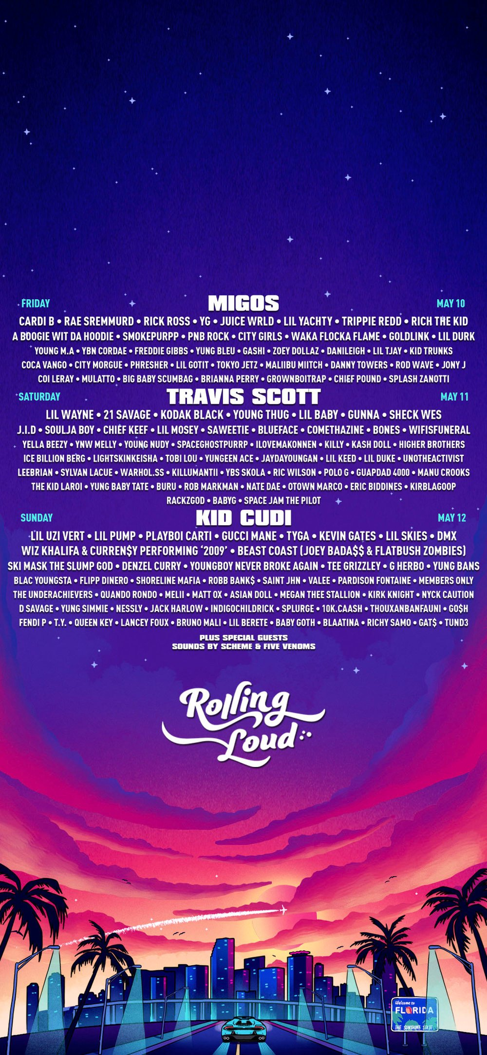 Wallpapers Rolling Loud Festival 1000x2165