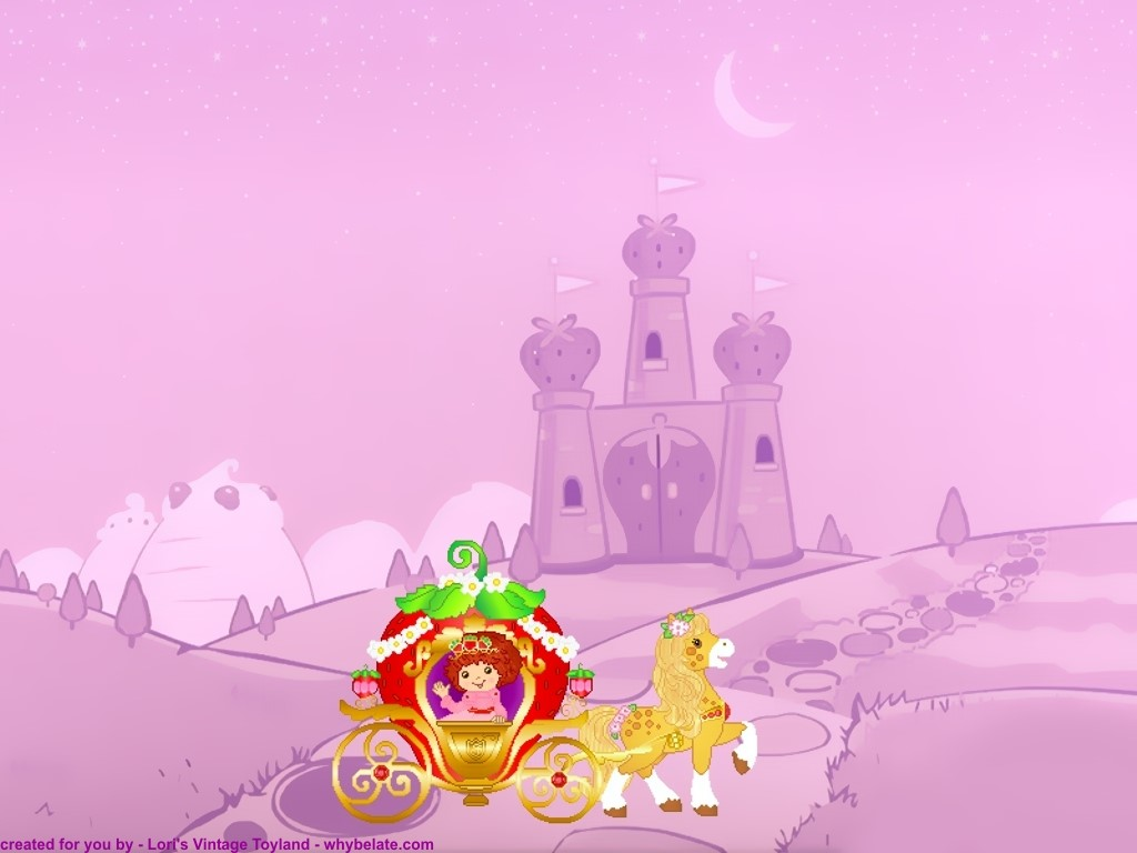 Download Strawberry Shortcake Cartoon Wallpaper in high resolution for 1024x768