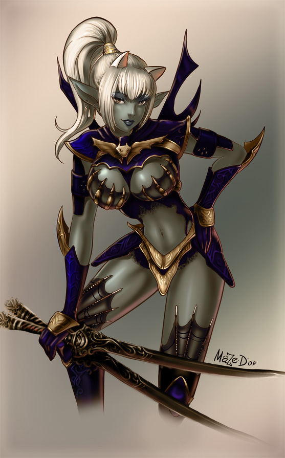 Blade dancer by maze d 557x895