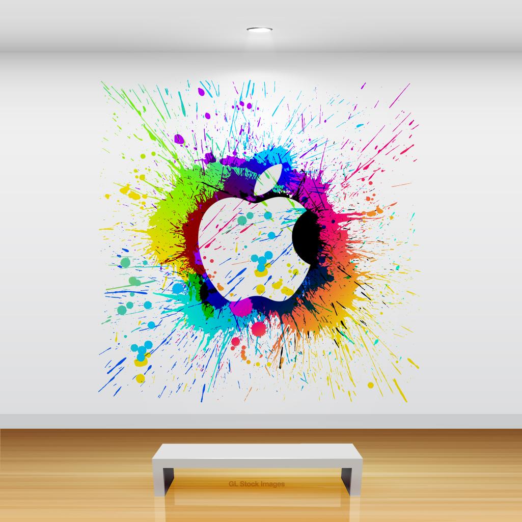 Beautiful Artsy Apple iPad Backgrounds   Design News 1025x1025