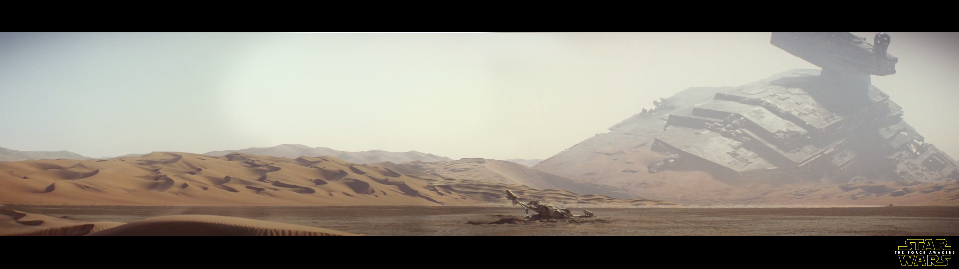 Star Wars Dual Screen Monitors 3840x1080