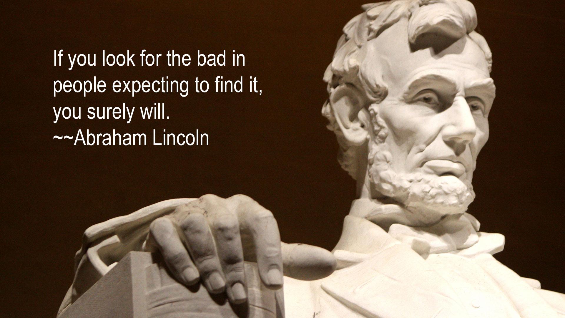 Pics Photos   Abraham Lincoln Wallpaper 1920x1080